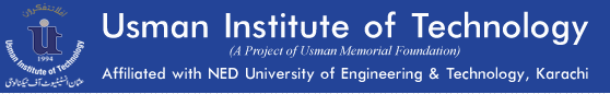 Usman Institute Of Technology Karachi Admission