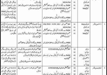 Benazir Bhutto Medical College Lyari Karachi Jobs