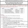 Rawalpindi Medical College BSC Admission 2016 Form, Requirement DPT, MIT, MLT