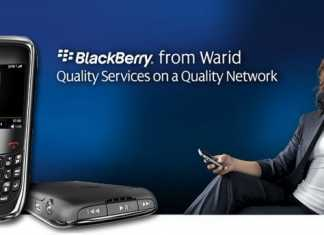 Warid Launches Blackberry Curve 9300