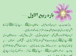 12 Rabi Ul Awal SMS 2018