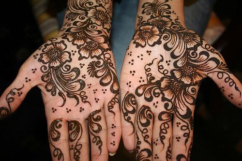 Latest Shadi Mehndi Designs 2014