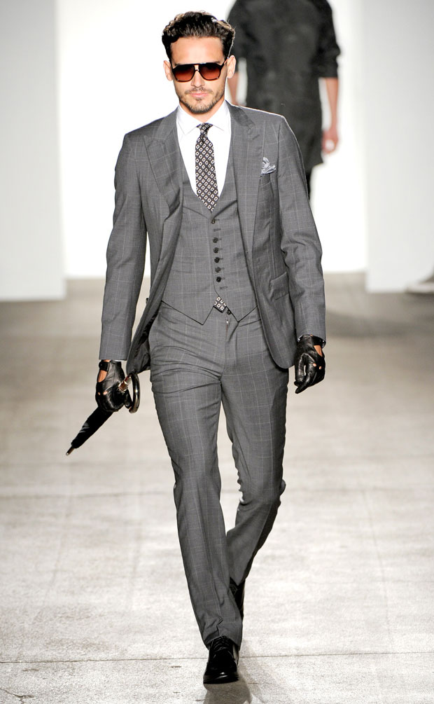 Men who wear fashion mens suits don't want to be seen twice wearing the same Men suit and they certainly don't want to go to a big affair and see someone else wearing the same exact fashion suit that they are wearing.