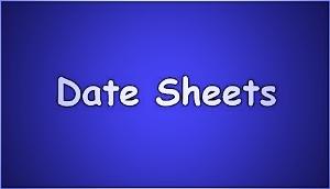Balochistan Board Intermediate Date Sheet 2019 1st Year, 2nd Year