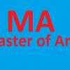 MA in Pakistan
