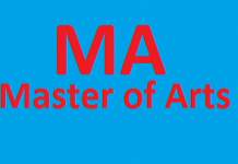 MA in Pakistan Subjects List Courses Jobs Career Eligibility Scope