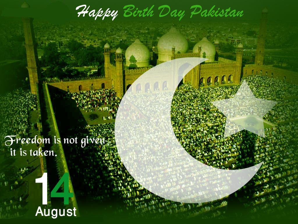 Happy Birthday Pakistan
