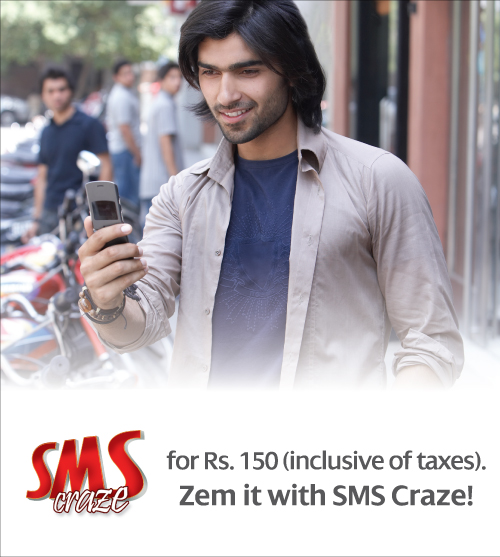 Warid Zoom SMS Package 1