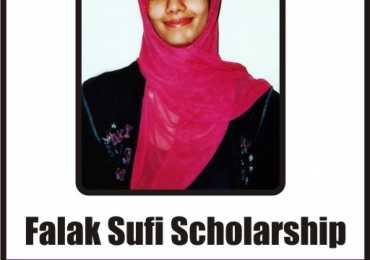 Falak Sufi Scholarship Program 2012