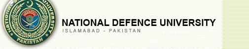National Defence University NDU Islamabad Spring Admission 2017