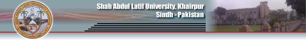 Shah Abdul Latif University SALU Shikarpur Campus Admission 2016-2017