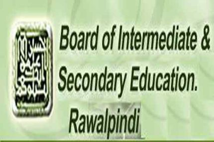 BISE Rawalpindi Board Intermediate Part I,II Supplementary Results 2013