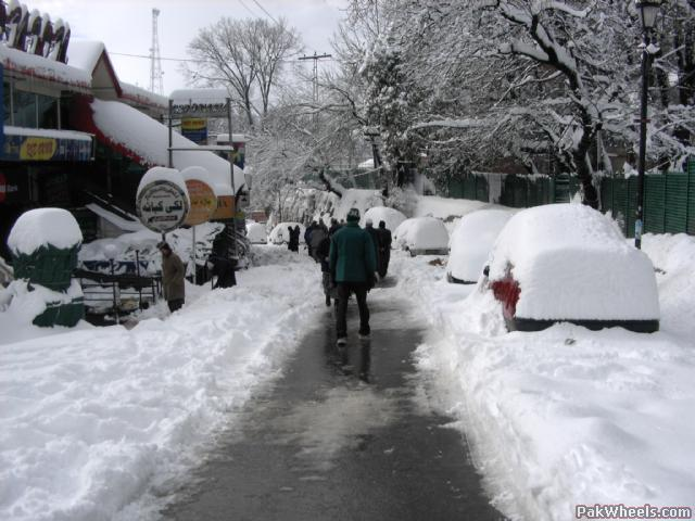 Muree Tourist Places In Pakistan To Visit