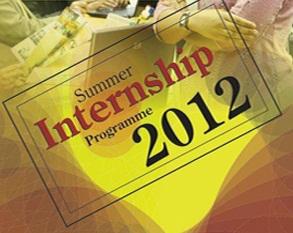 Summer Internship Program 2012