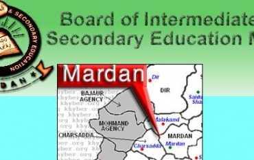 Mardan Board Roll Number Slip 2021 Inter 1st Year, 2nd Year
