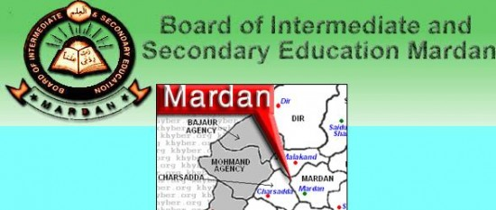 Mardan Board Roll No Slips 2014 Inter Part 1, 2 Download