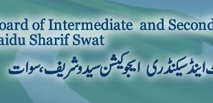 BISE Swat Board 10th Class Result 2019 Online
