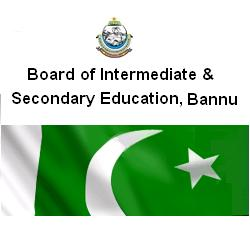 BISE Bannu Board Intermediate Result 2012