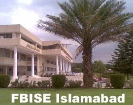 BISE Federal Board 9th Class Result 2012