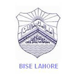BISE Lahore Board Matric 10th Class Date Sheets 2014