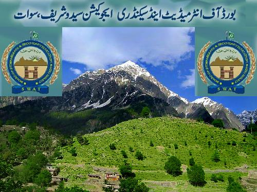 BISE Swat Board Intermediate Annual Result 2012