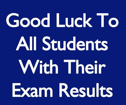 Good Luck For Results