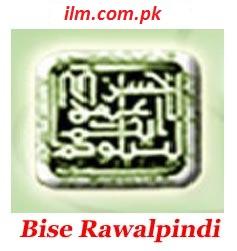 BISE Rawalpindi Board Intermediate Part 1 & Part 2 Result 2017