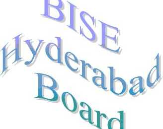 BISE Hyderabad Board Inter Part 1, 2 Date Sheet 2017 FA, FSc