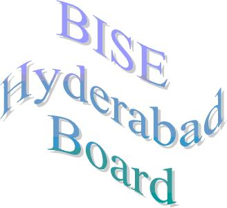 BISE Hyderabad Board Inter Part 1, 2 Date Sheet 2014 FA, FSc