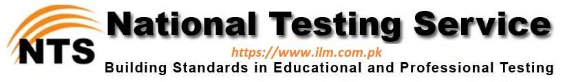 National Testing Service NTS NAT Test Result 2013