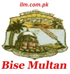 BISE Multan Board Inter Part 1 Result 2016