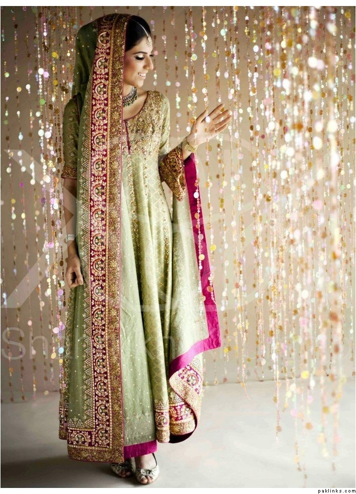 Pakistani Bridal Dresses 2018 10