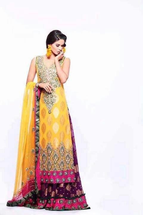 Pakistani Bridal Dresses 2018 4