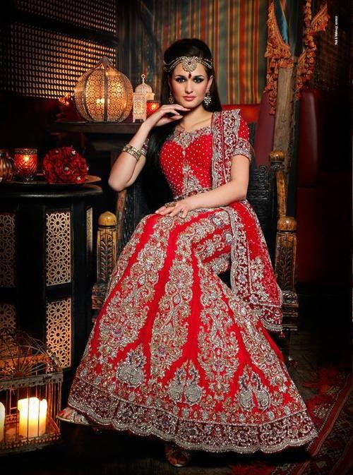 Pakistani Bridal Dresses 2018 6