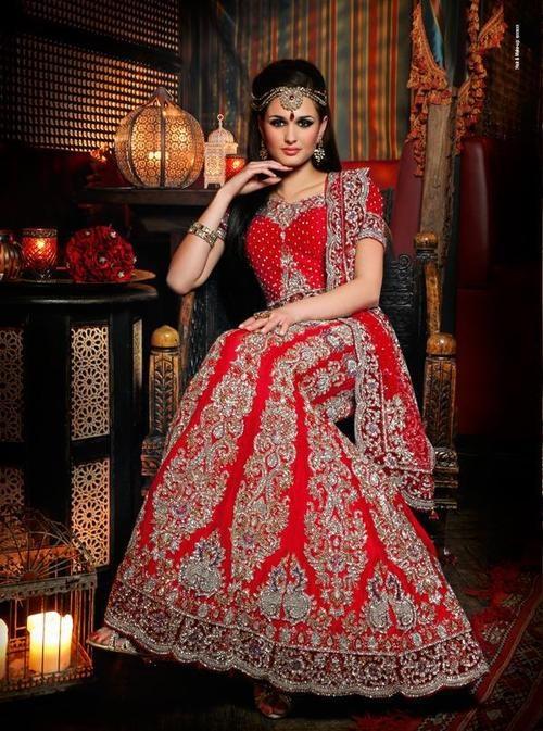 Pakistani Bridal Dresses 2018 6