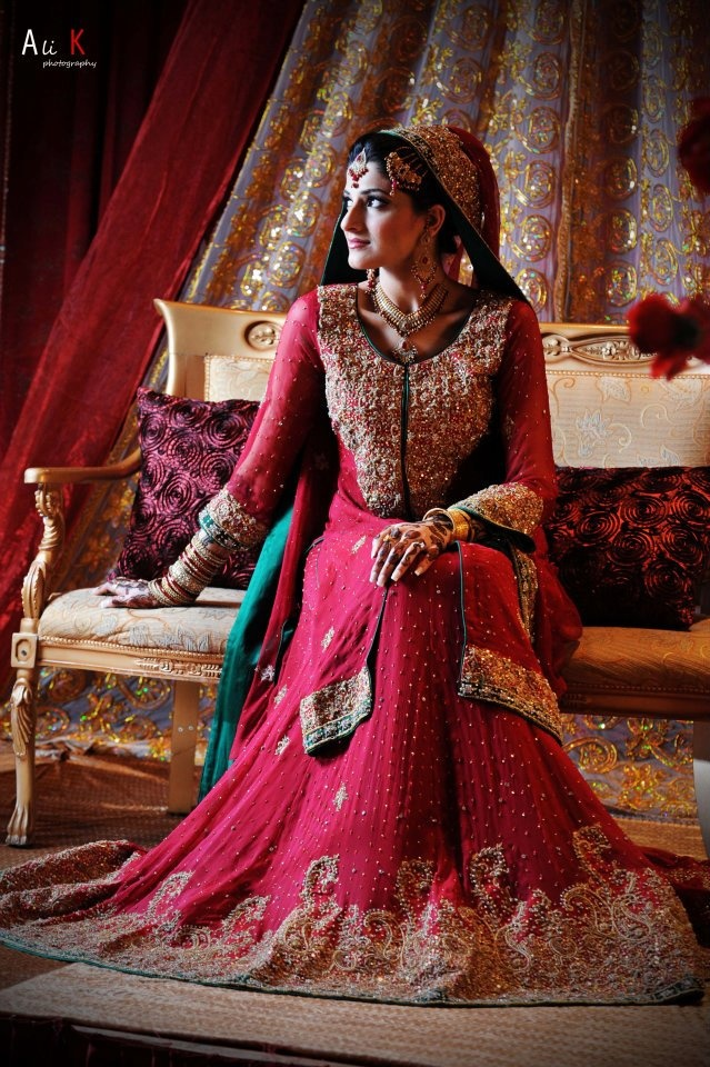 Pakistani Bridal Dresses 2018 8