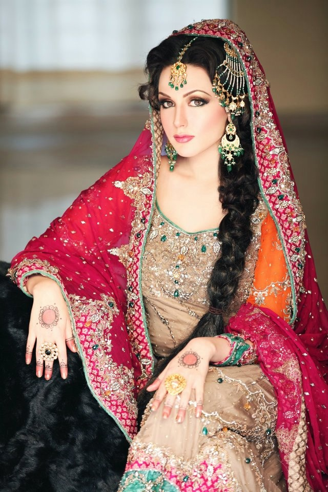 Pakistani bridal dresses 2018 pakistani wedding dresses for Pakistani dresses for wedding parties