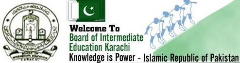 Karachi Board Inter Result 2013 Part 1, 2 Science Group