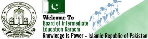 BIEK Karachi Board Inter Part 1, 2 Date Sheet 2016