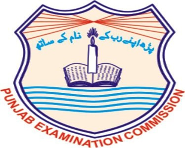 PEC 8th Class Exams Date Sheet 2016