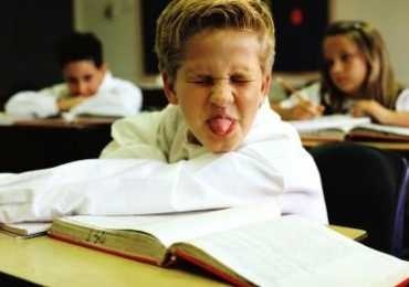 Why students misbehave in class