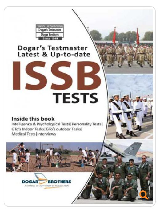 ISSB Workbook Personality Test