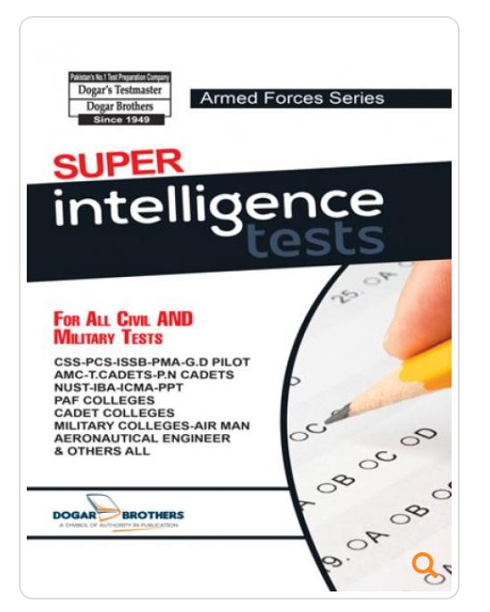 ISSB Workbook, Verbal Intelligence Test