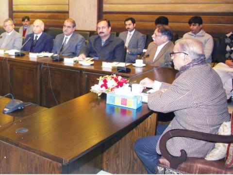 Shahbaz Sharif to Distribute Laptop in PHd teachers