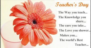 Teachers Day Shayari In English Wishes Quotes Sayings