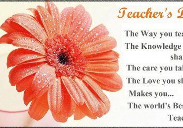 Teachers Day 2019 Shayari In English Wishes Quotes Sayings