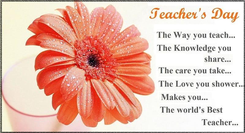 Teachers Day Shayari In English Wishes Quotes Sayings