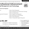 UMT School of Professional Advancement SPA Admission 2013