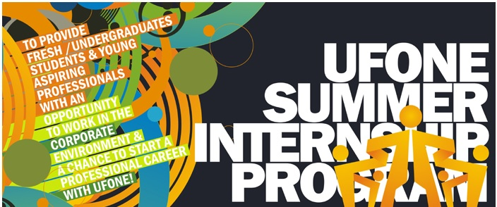 Ufone Summer Internship Program 2015