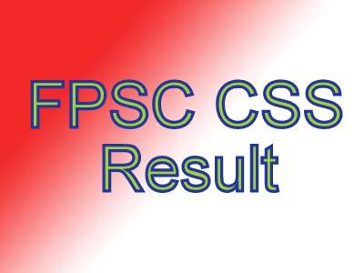 CSS 2017 Written Result
